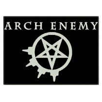 Patch Grande Arch Enemy Pentagrama