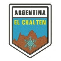 Patch Viagem Argentina El Chalten