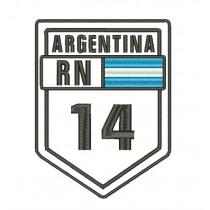 Patch Viagem Argentina Ruta 14