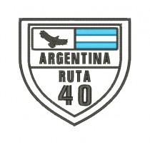 Patch Argentina ruta 40