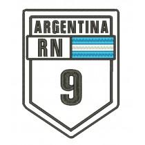 Patch Viagem Argentina Ruta 9