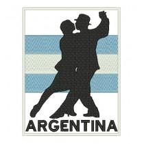 Patch Argentina Tango