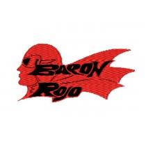 Patch Baron Rojo Vermelho