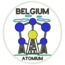 Patch Viagem Belgica Atomum