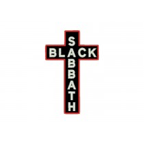 Patch Black Sabbath Cross