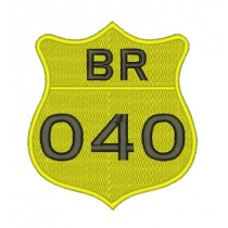 Patch Moto BR 040