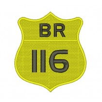 Patch Moto BR 116