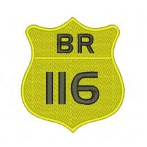 Patch Moto BR 116