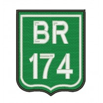 Patch Moto BR 174
