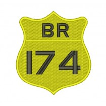 Patch Moto BR 174