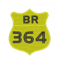 Patch Moto BR 364