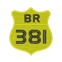 Patch Moto BR 381