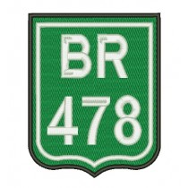 Patch Moto BR 478