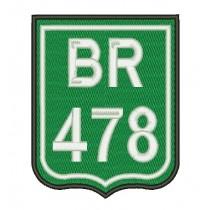 Patch Moto BR 478