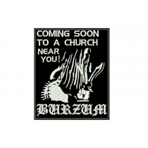 Patch Burzum - Coming Soon To a Church