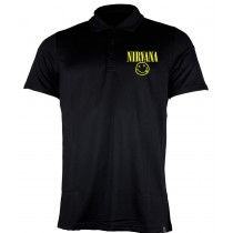 Camiseta Polo Nirvana - Smiley