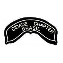 Patch Tarja Moto Chapter Grande