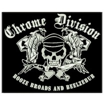 Patch Grande Chrome Division Booze Broads and Beelzebub
