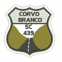 Patch Viagem Serra do Corvo Branco SC-439