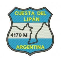 Patch Viagem Cuesta Del Lipan Argentina