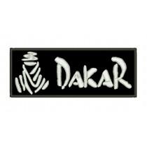 Patch Moto Dakar Branco