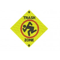 Patch D.R.I. Trash Zone