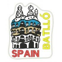 Patch Viagem Espanha Casa Batllo