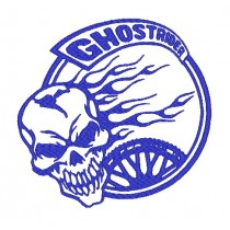 Patch Moto Ghost Rider