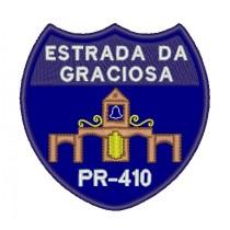Patch Viagem Serra da Graciosa - PR 410 Azul