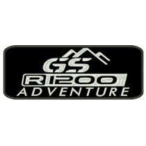 Patch Moto BMW GS 1200 Adventure Grande
