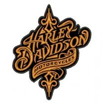 Patch Moto Harley Davidson Retro Classic