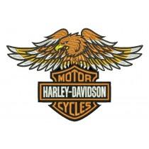 Patch Moto Harley Davidson Aguia Grande