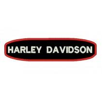 Patch Moto Harley Tarja Vermelha