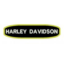 Patch Moto Harley Tarja Amarela