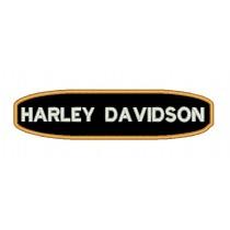 Patch Moto Harley Tarja Laranja