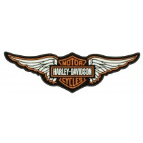 Patch Moto Harley Davidson Wings 20 cm