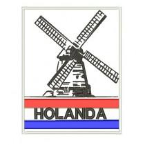 Patch Viagem Holanda Classic