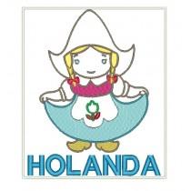 Patch Viagem Holanda
