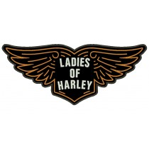 Patch Moto Ladies of Harley Grande