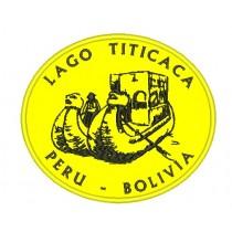 Patch Viagem Lago Titicaca