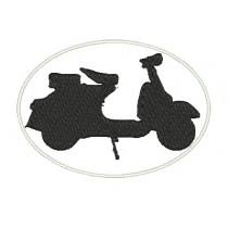 Patch Moto Lambretta