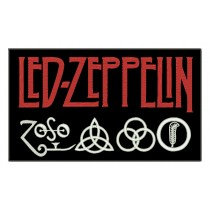 Patch Grande Led Zeppelin Simbolo