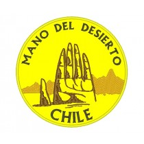 Patch Viagem Mão do Deserto Chile Atacama (Mano Del Desierto)