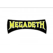 Patch Megadeth Amarelo