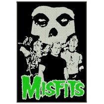 Patch Grande Misfits Band