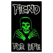 Patch Grande Misfits - Fiend for Life