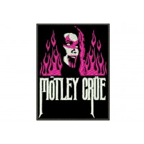 Patch Motley Crue Flame Girl