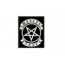 Patch Motley Crue Pentagram