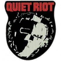 Patch Grande Quiet Riot Mascara