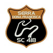 Patch Viagem Serra Dona Francisca - SC 418